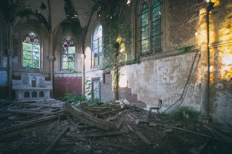 Gloria's Church | Lieux oubliés | Urbex | RanoPano Photography