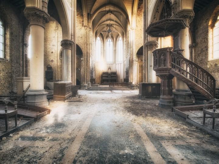 Blue Christ Chruch | Lieux de Cultes | Lieux oubliés | Urbex | RanoPano Photography