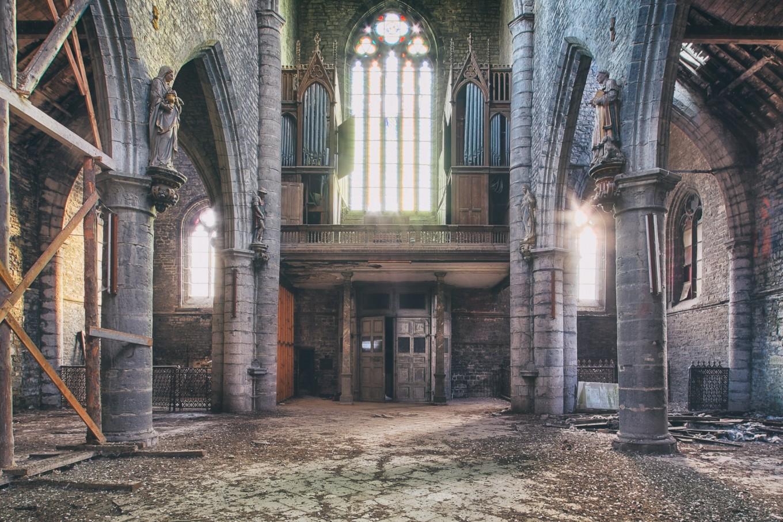 Black Church   Lieux de Cultes   Lieux oubliés   Urbex   RanoPano Photography
