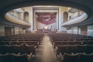 Round Theater | Loisirs | Lieux oubliés | Urbex | RanoPano Photography