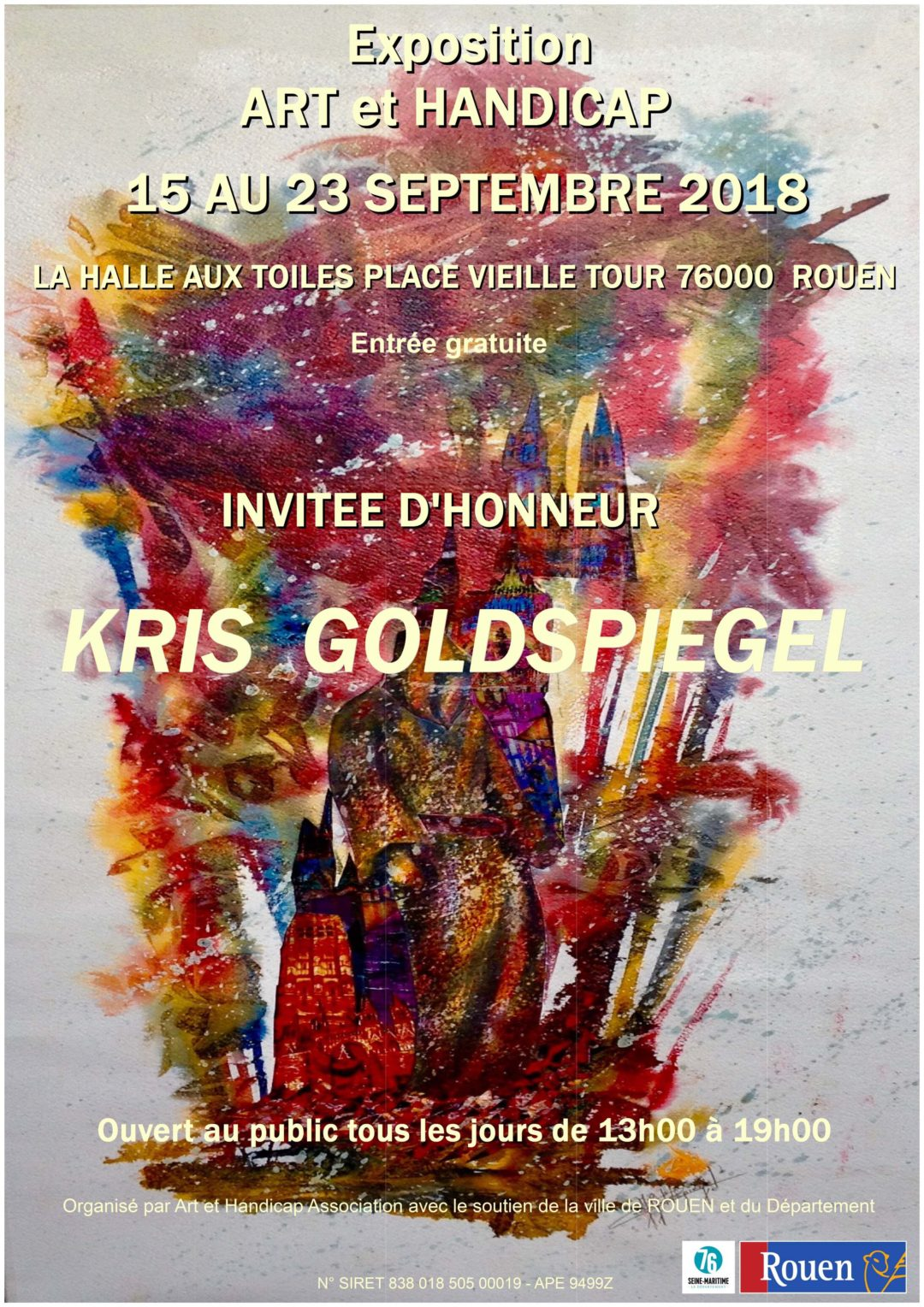 Exposition Art et Handicap 2018
