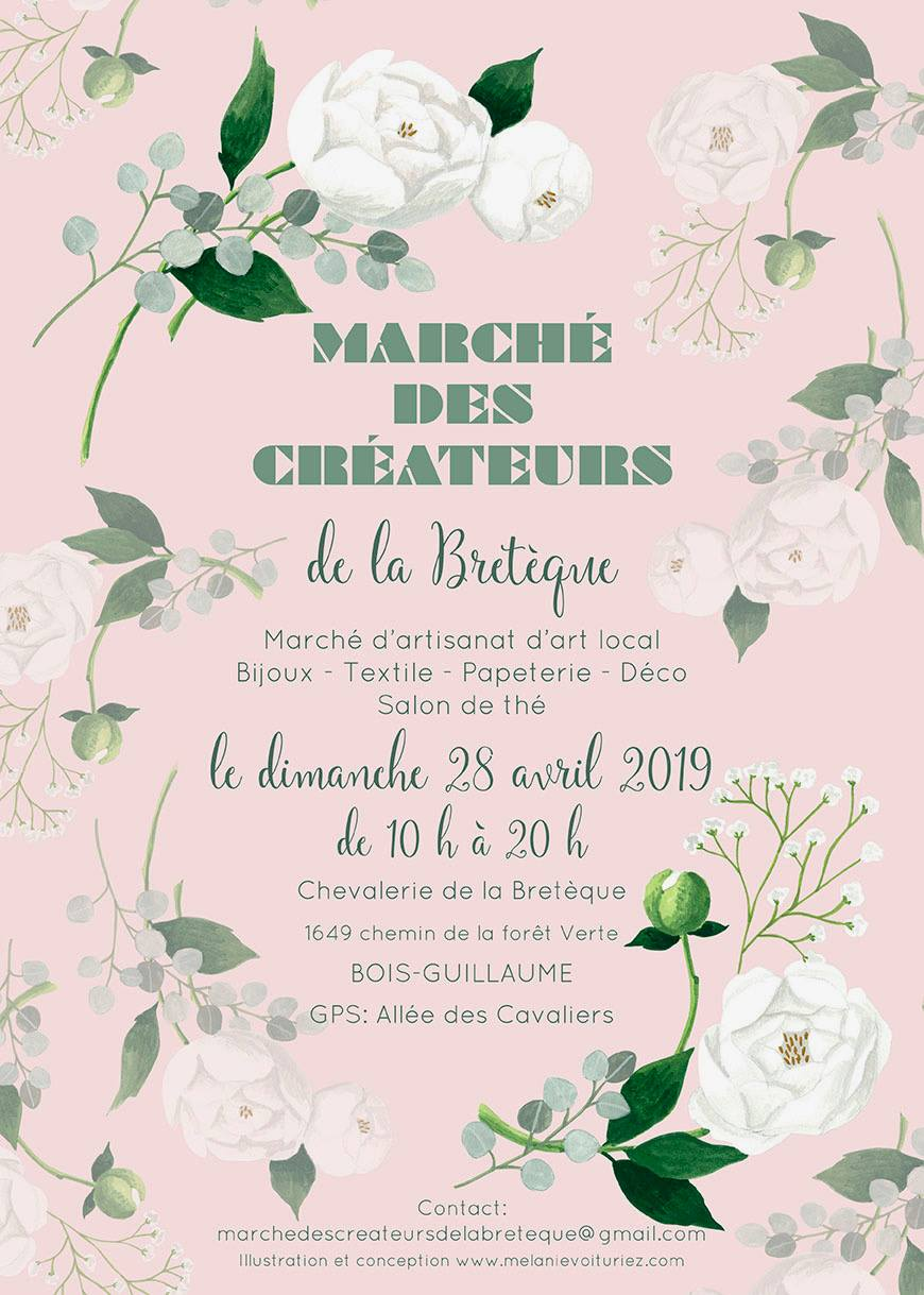 Marché des créateurs de la Bretèques 2019